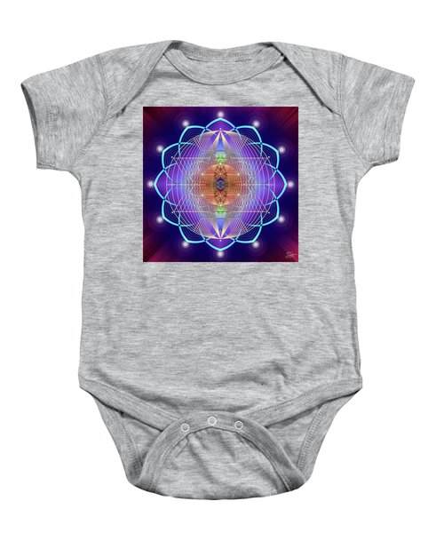 Sacred Geometry 641 Baby Onesie