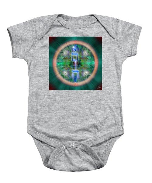 Sacred Geometry 648 Baby Onesie