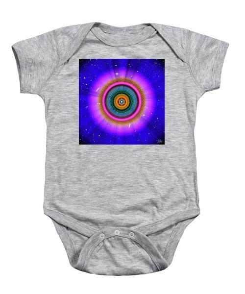 Sacred Geometry 660 Baby Onesie