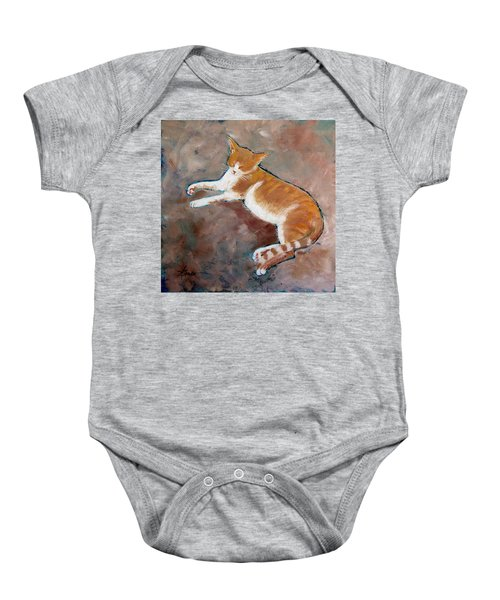 Saddle Tramp- Ranch Kitty Baby Onesie