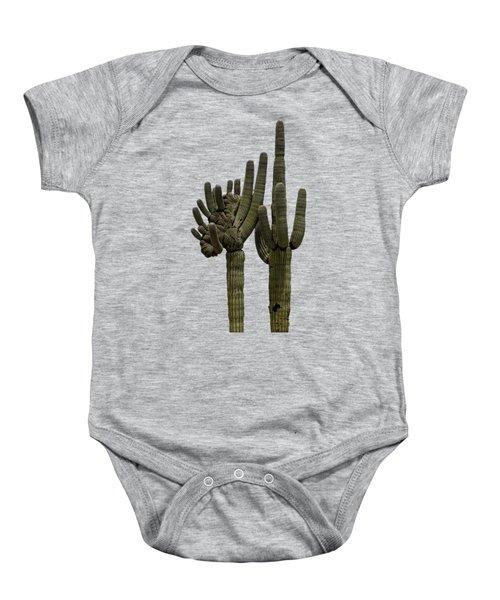 Saguaro Duo Baby Onesie