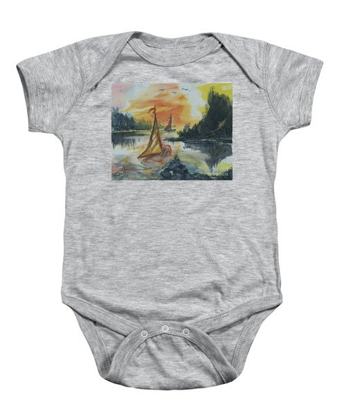 Sail Away Baby Onesie
