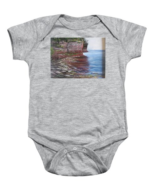 Sail Into The Light Baby Onesie