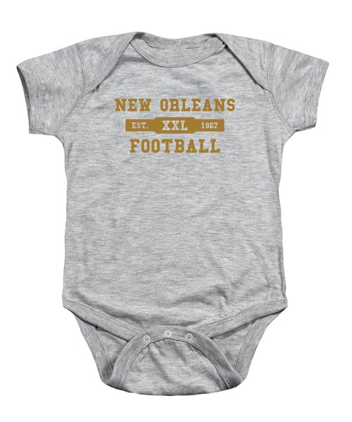Saints Retro Shirt Baby Onesie