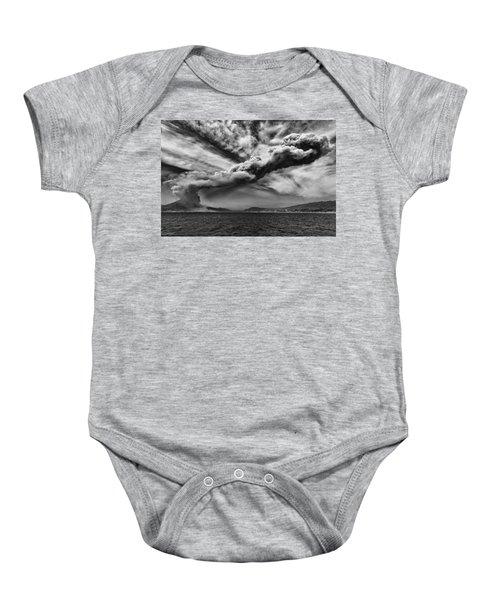 Sakurajima Volcano Baby Onesie