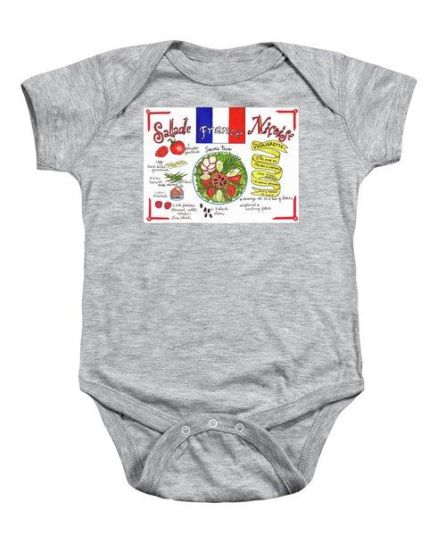 Salade Nicoise Baby Onesie