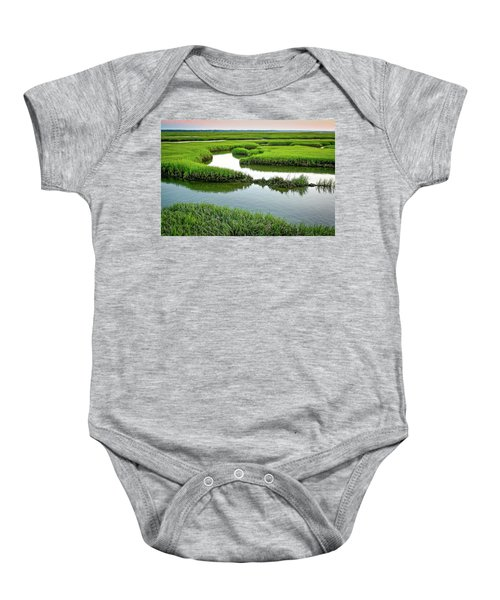 Salt Marsh Baby Onesie