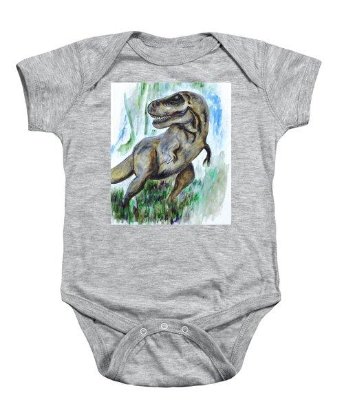 Salvatori Dinosaur Baby Onesie