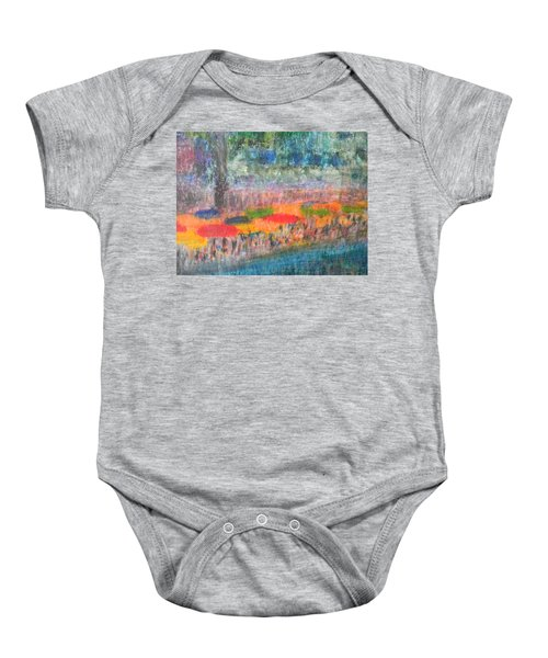 San Antonio By The River II Baby Onesie