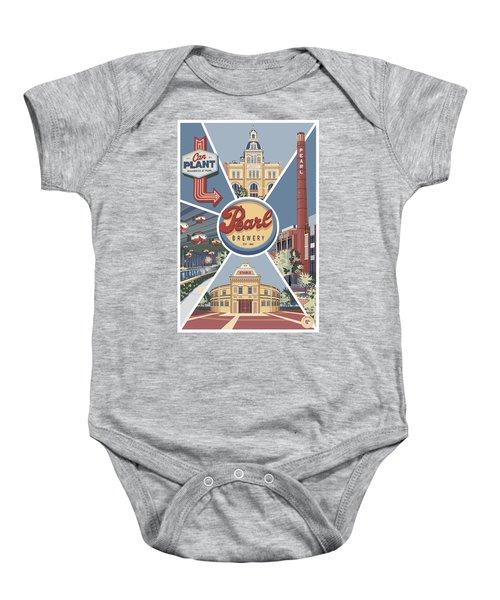 San Antonio's Pearl Baby Onesie