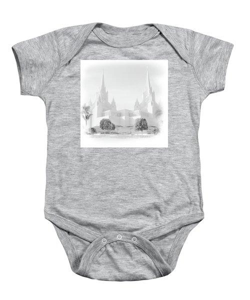 San Diego Lds Temple Baby Onesie