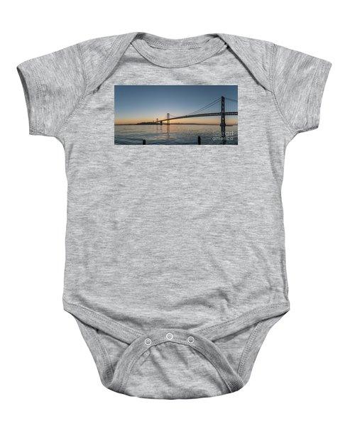 San Francisco Bay Brdige Just Before Sunrise Baby Onesie