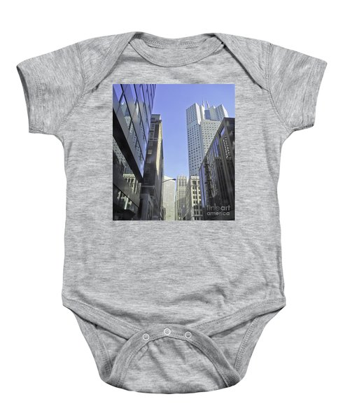 San Francisco Skyline Baby Onesie