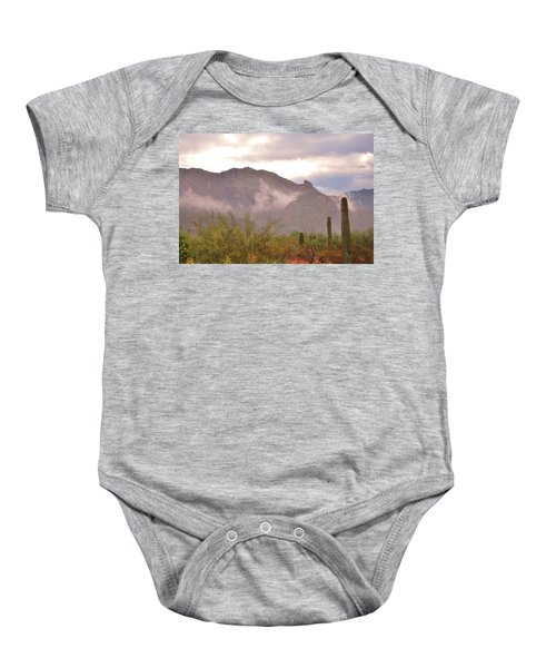 Santa Catalina Mountains II Baby Onesie