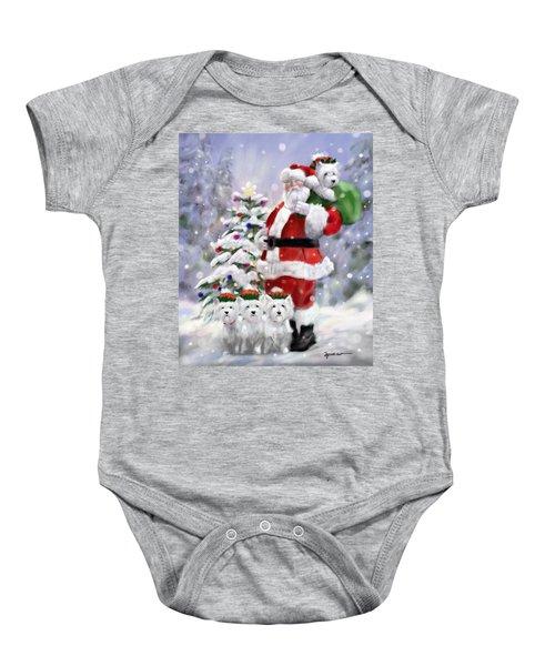 Santa's Helpers Baby Onesie