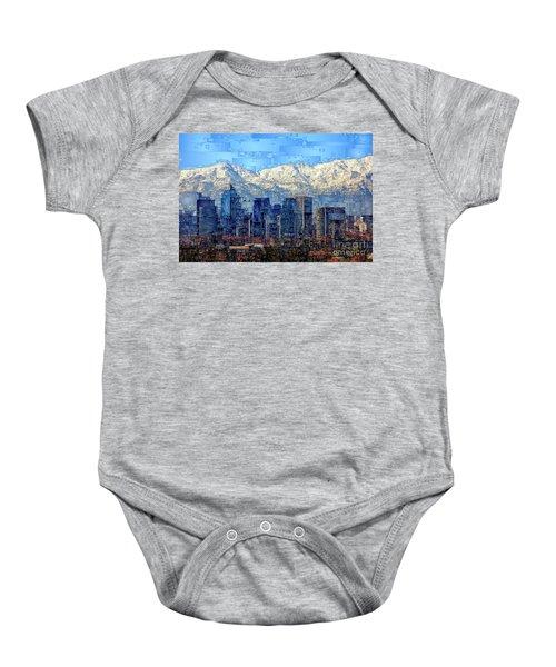 Santiago De Chile, Chile Baby Onesie