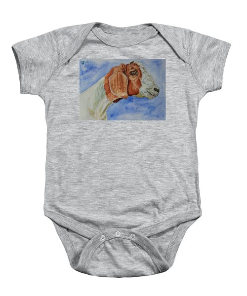 Sara's Goat Baby Onesie