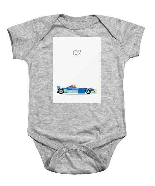 Sauber Petronas C20 F1 Poster Baby Onesie