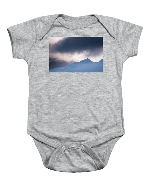 Savage Mountain Baby Onesie