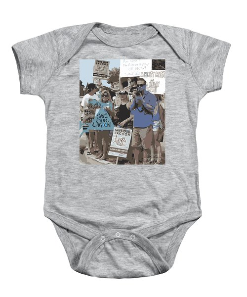 Save Our Lagoon Baby Onesie