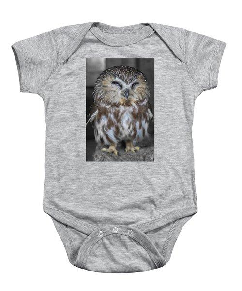 Saw Whet Owl Baby Onesie
