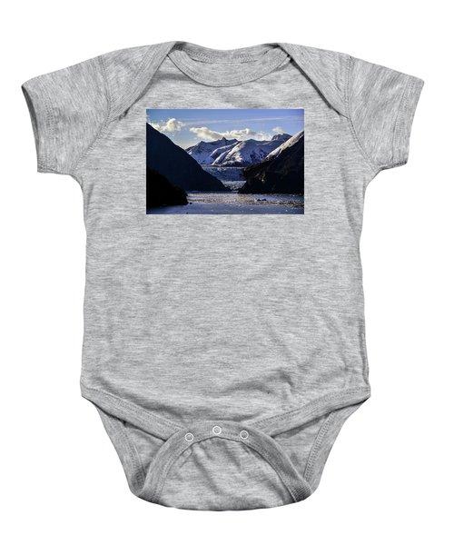 Sawyer Glacier In Tracy Arm Fjord Baby Onesie