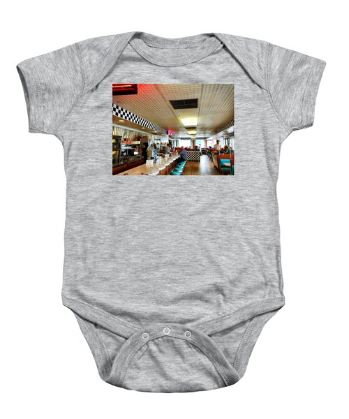 Scenes From A Diner Baby Onesie