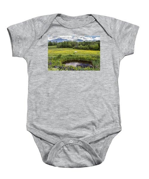 Scenic Pasture Baby Onesie