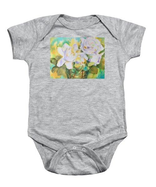 Scent Of Gardenias  Baby Onesie