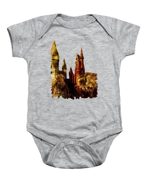 School Of Magic Baby Onesie