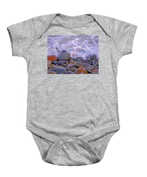 Sea Covers All  Baby Onesie