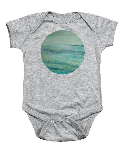Sea Glass Baby Onesie
