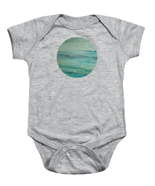 Sea Glass Baby Onesie