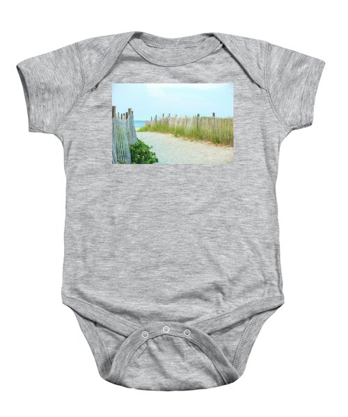 Sea Gull Beach #1 Baby Onesie