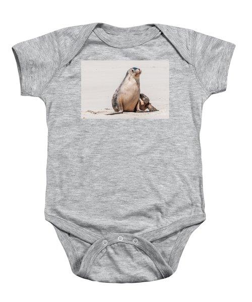 Sea Lion 1 Baby Onesie