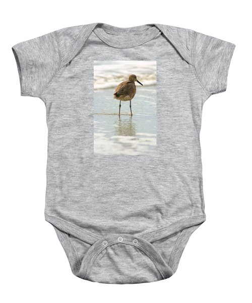 Sea Shore Stroller Baby Onesie