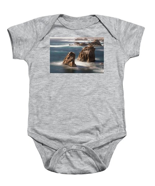 Sea Stacks  Baby Onesie