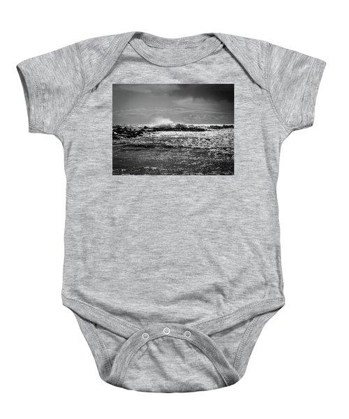 Sea Storm Baby Onesie