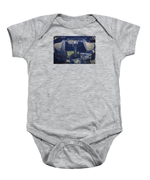 Seahawk Stadium Baby Onesie