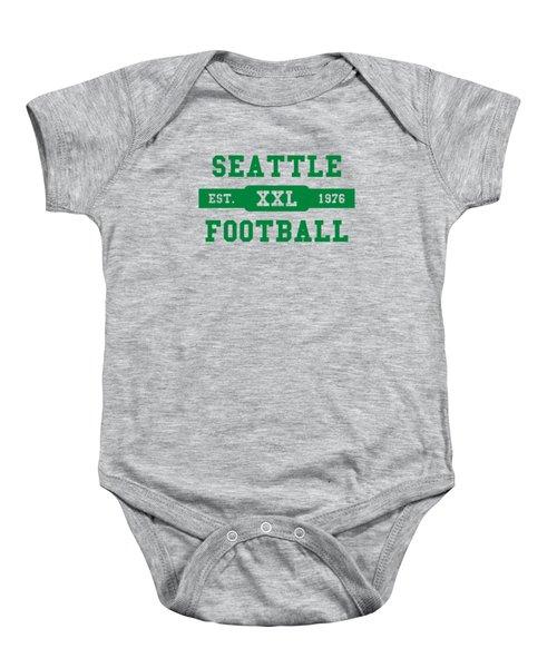 Seahawks Retro Shirt Baby Onesie