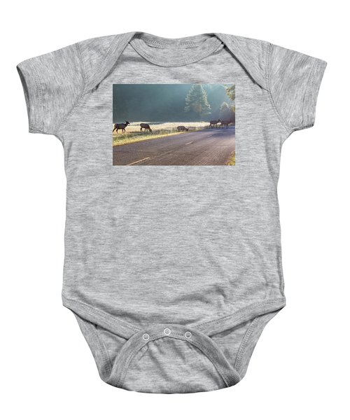 Searching For Greener Grass Baby Onesie