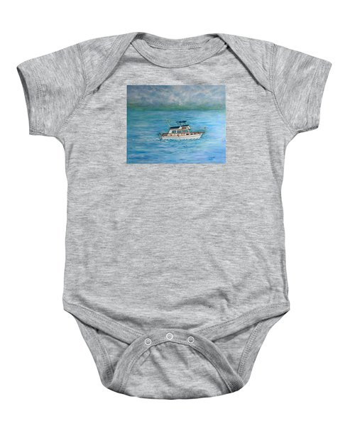 Seascape Baby Onesie