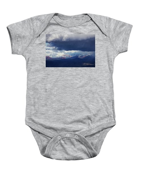 Sedona Area Third Winter Storm Baby Onesie