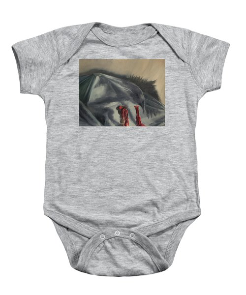 See You In The Shadows Baby Onesie