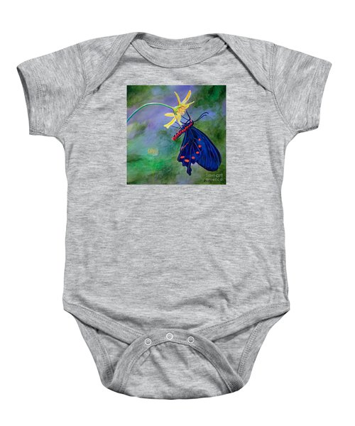 Semperi Swallowtail Butterfly Baby Onesie