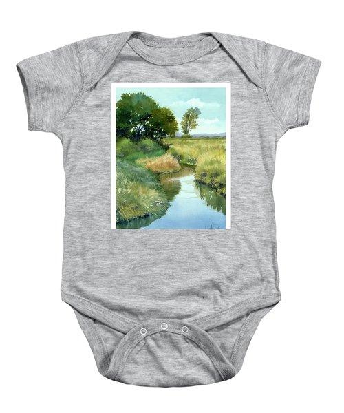 September Morning, Allen Creek Baby Onesie