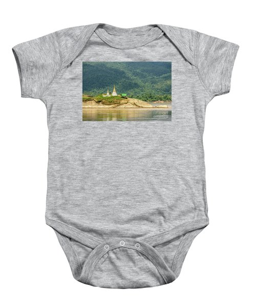 Baby Onesie featuring the photograph September by Werner Padarin