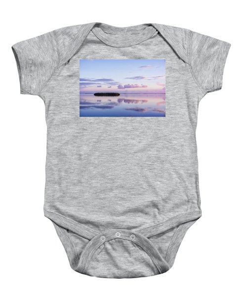 Serenity At Sunrise Baby Onesie