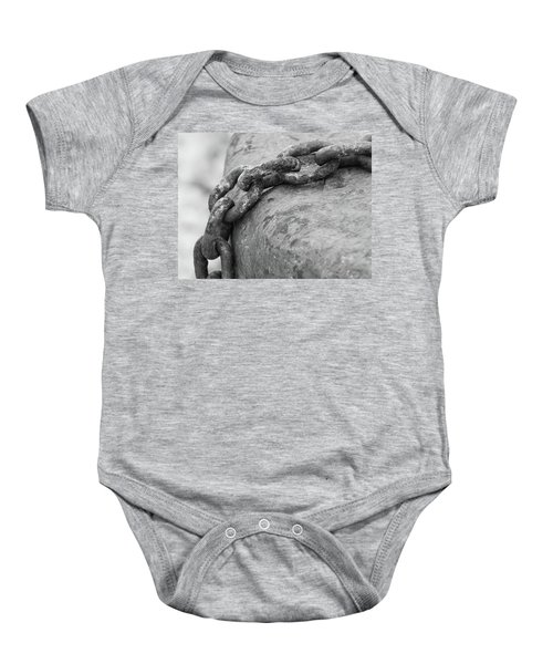 Shades Of Gray Baby Onesie