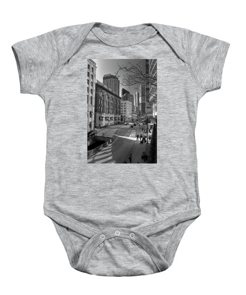 Shades Of The City Baby Onesie